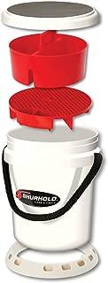 Shurhold 2463 White 5 Gallon Deluxe Bucket Kit