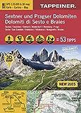 3D-Wanderkarte Sextner und Pragser Dolomiten: Cartina escursionistica 3D Dolomiti di Sesto e Braies (Kombinierte Sommer-Wanderkarten Südtirol) ... / Topografische Karte + 3D-Panoramakarte)