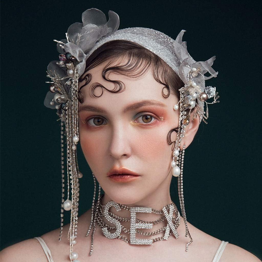 AEBDF Pearl Dedication Beads Mail order cheap Lace Tassels Veil Accessories Hat Wedding Hair