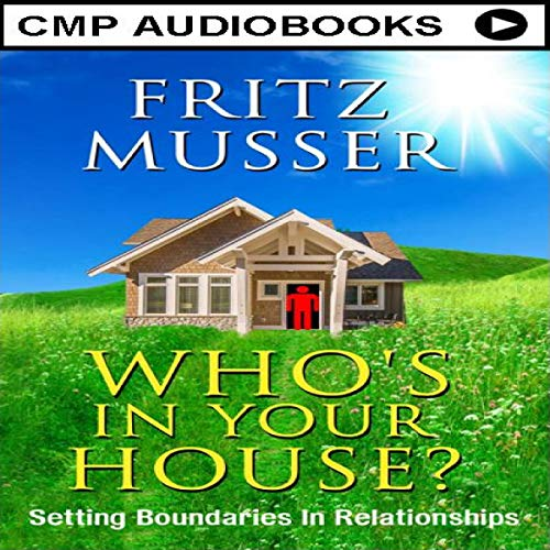 Who's in Your House? audiobook cover art