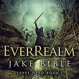EverRealm: A LitRPG Novel audiobook cover art