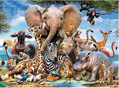 Lunriwis 1000 Teile Klassische Puzzles,Regenbogen Puzzle,Erwachsenen Puzzle,Puzzle Kreative Erwachsene,Legespiel Puzzle,Puzzle Pädagogisches,Puzzle Stressfreisetzung Spielzeug,Wilde Tiere
