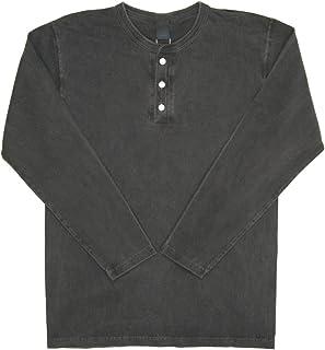 (グッドオン) Good On ロングスリーブ ヘンリーネック Tシャツ カットソー ロンT メンズ レディース GOLT1601