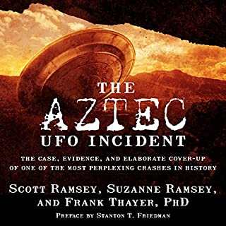The Aztec UFO Incident audiobook cover art
