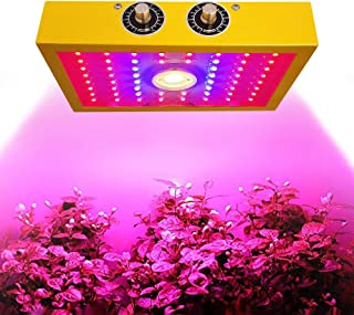 MINGSSTORE 1200w LED Grow Light,Dual chip LED Plant Grow Lamp,Full Spectrum Double Switch Plant Light,for Greenhouse and I...