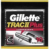 Gillette TRAC II Plus Men's Razor Blades -10 Refills