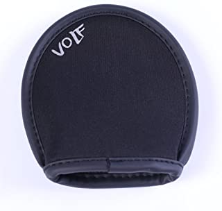 TribleA Golf Pocket Ball Washer Water Proof Ball Cleaner Dry-Clean Black Color Circular From Volf Golf
