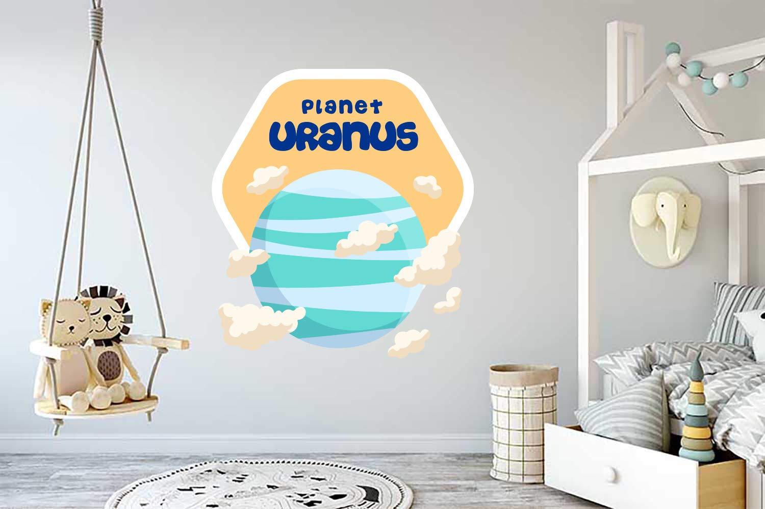 Uranus Planet Space Wall Vinyl We OFFer at cheap prices Sticker Mural Car OFFicial Decal Decor Art
