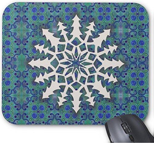 Snowflake #2 - Alfombrilla antideslizante para ratón