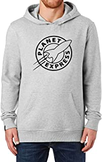 Mens Futurama Planet Express Casual Fleeces Pullover Hoodie Hooded Sweatshirt
