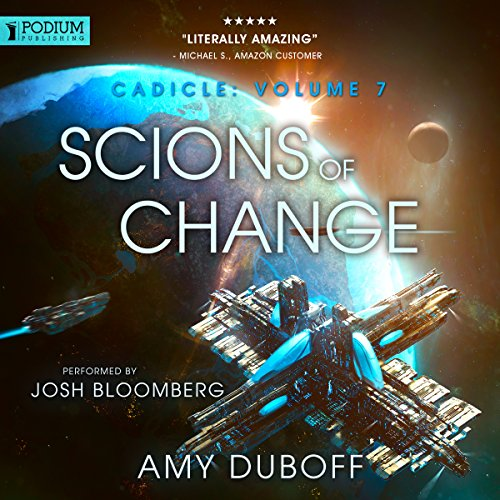 Scions of Change audiobook cover art