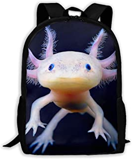 Mochilas de marchaMochilas Tipo Casual Mexican Axolotl Fashion Outdoor Shoulders Bag Durable Travel Camping For Kids Backpacks Camping Bookbag