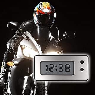 Yintiod Mini horloge num/érique 2 en 1 avec thermom/ètre pour voiture et d/écoration int/érieure