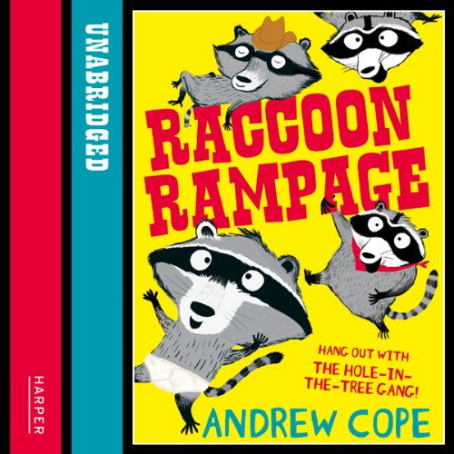 Raccoon Rampage audiobook cover art