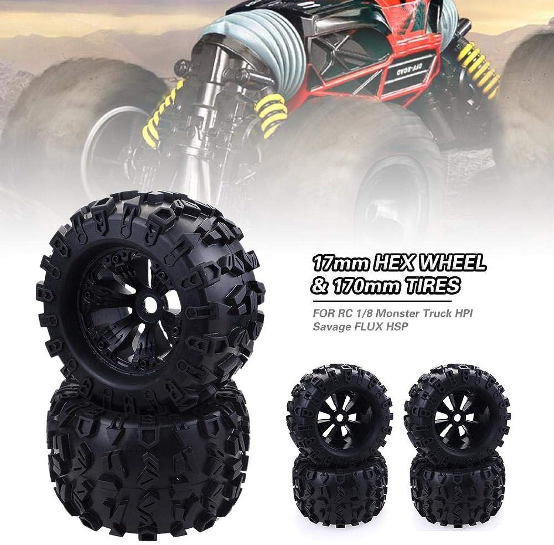 artículos de promoción Greatdaily Monster Truck RC Accesorios para para para Llantas 17mm Hex Wheel & 170mm Tires Profesional para RC 1 8 Monster Truck Juguete HPI Savage Flux HSP 4 PCS  tienda