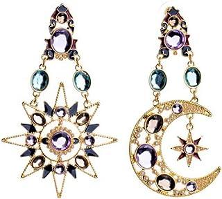 itemer Sun & Moon Bohemian Ohrringe baumeln Ohrringe Party Ohrringe für Frauen Schmuck Dekoration