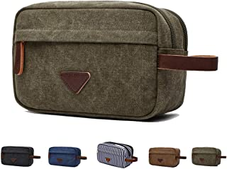 Fantasylinen Travel Toiletry Bag for Men Women, Perfect for Makeup Shaving Kit, Clippers and Grooming Tools Perfect for Tr...