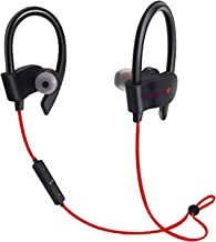 Freesolo 56S-1 Wireless Bluetooth 4.1 In-Ear Noice Isolating Headphone with Mic & Controller ( Red )