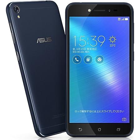 エイスース ASUS ZenFone Live ネイビーブラック ZB501KL-BK16