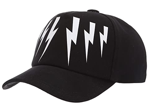 Neil Barrett Thunderbolt Wings Cap
