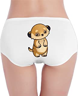 DXLUYE Briefs Little Cute Meerkat Print Underwear