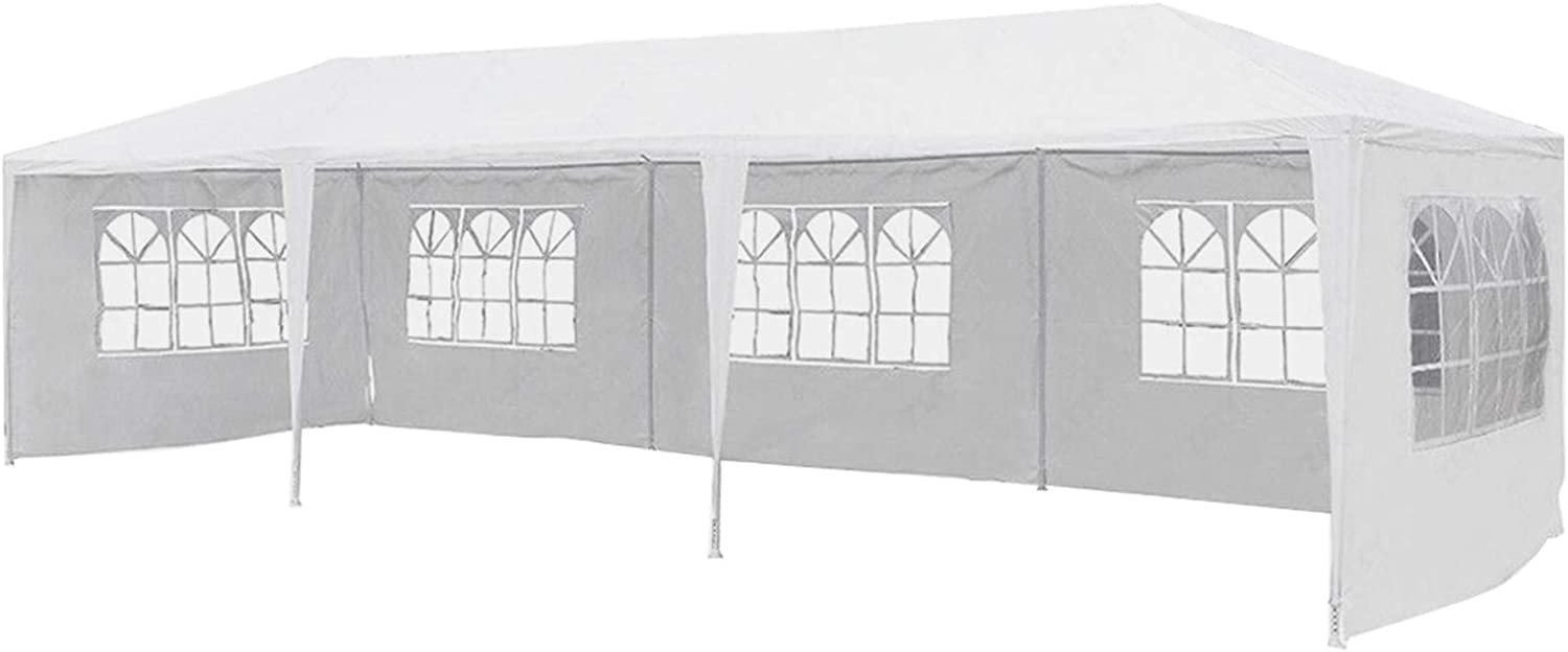 mecor 10'x30' Limited time cheap sale Canopy Tent Outdoor Party White Patio Wedding Translated