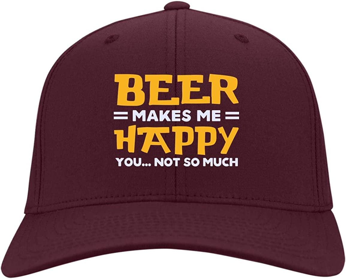 Beer Lover Trucker Hat TeeWind Beer Because 2020 Sucks Twill Cap High-Profile Snapback Hat