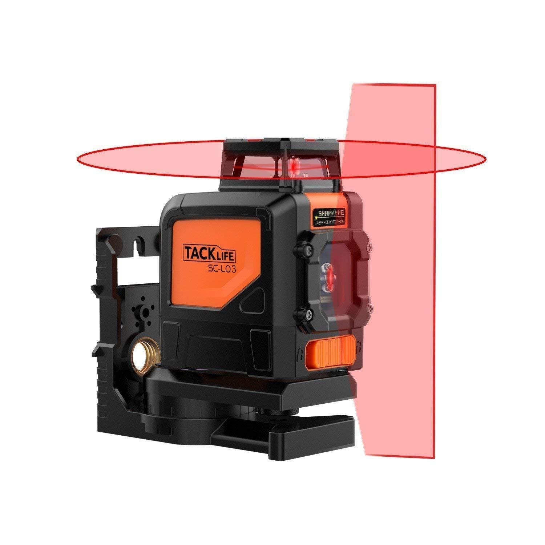 Laser Tacklife SC L03 98ft Crossline Self Leveling
