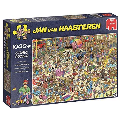 Jumbo Spiele 19073 Van Haasteren - Der Spielzeugladen 1000 Teile