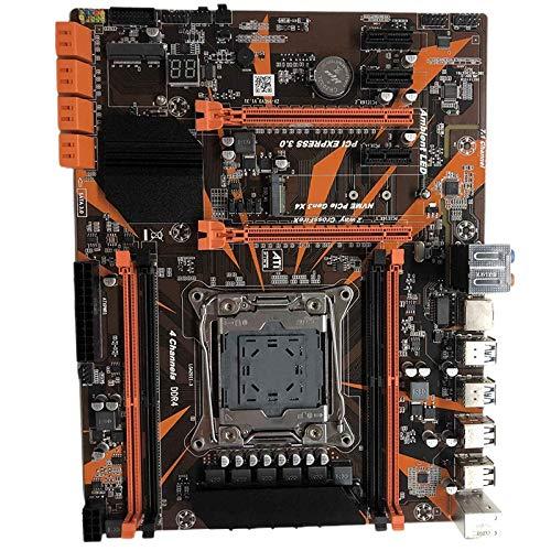 VORA Placa Base X99 LGA2011-3 Soporte Xeon E5 V3 / V4 CPU 2678V3 2650V3 4 Canales DDR4X4 M.2 Nvne Sata3.0
