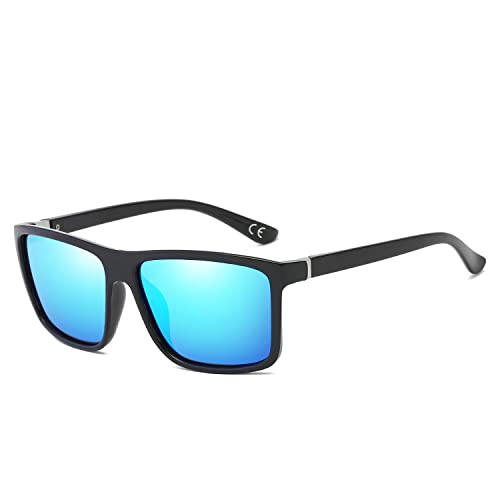 BVAGSS Men Sunglasses Polarized Mens Sports Mirrored Sun Glasses UV  Protection Eyewear WS021 ce726c173