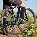Rwest X Chaussette de Contention Bas de Contention Chaussettes de Compression pour Hommes et Femmes, pour Sportive, Cyclisme, Voyage en Avion #1