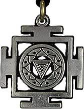 Pewter Kali Yantra of Transformation Hindu Goddess Pendant