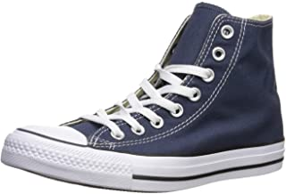 Converse Unisex Chuck Taylor All Star High Top Sneakers (5.5 D(M) US, Navy_Men Size)