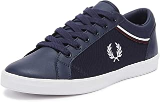 Baseline Tipped Collar Mens Carbon Blue/White Sneakers