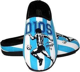 Zapatillas cómodas casa inspiradas en Maradona - Argentina