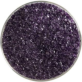 Deep Royal Purple Transparent Fusible Glass Medium Frit - New Larger 8oz Size - 90COE - Made from Bullseye Glass