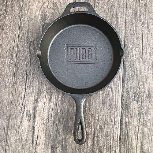 Kochen Töpfe & PfannenJedi Survival Pan Gusseisenverdickung 26Cm Steak Bratpfanne Roheisen Unbeschichtete Antihaftpfanne, 26Cm mit Pubg-Logo