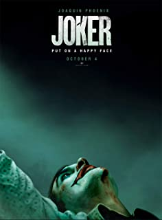 Rock-Poster Joker (2019 Film) Movie Poster and Prints Unframed Wall Art Gifts Decor 11x17 Poster 2
