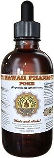 Poke Liquid Extract, Organic Poke (Phytolacca americana) Tincture 4 oz