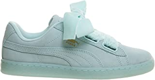 PUMA Suede Heart Reset Womens Sneakers Blue
