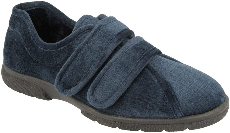 Mens Hamilton Strap Over House shoes 6V 84007N