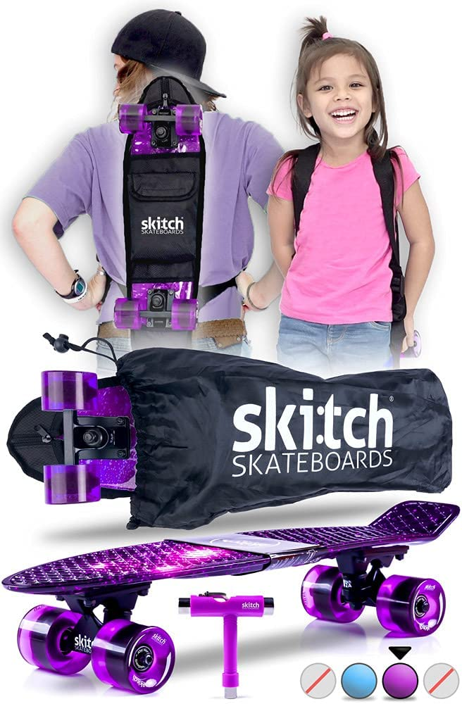 SKITCH Complete Skateboard Gift Set for Very popular! All Mi Ages with 22 Popular brand in the world Inch