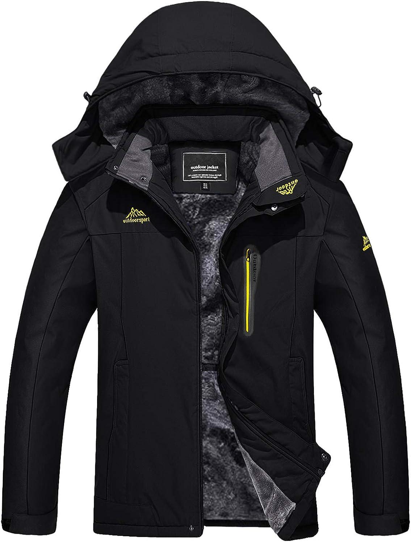 Colorado Springs Mall TACVASEN Men's Outdoor Jackets Winter Ski Windproof S Waterproof Product