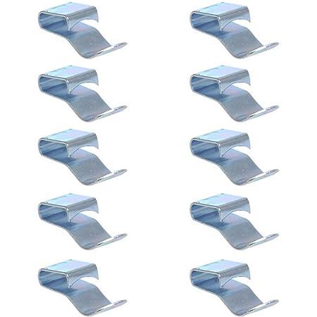 Proplus 343154s Chassisklemme Für Kabel Ø6mm Stahlsilber 10 Stück Spielzeug