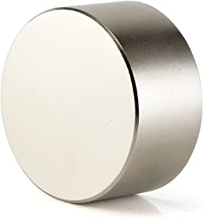 DIYMAG 40x20mm Super Strong Neodymium Disc Magnet, Permanent Magnet Disc, The World's Strongest and Most Powerful Rare Earth Magnets - One Piece