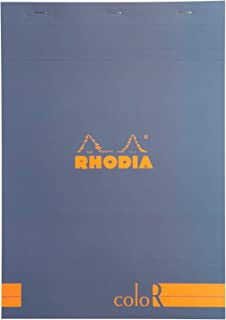 Rhodia ColoR Pad - Lined 70 sheets - 8 1/4 x 11 3/4 - Sapphire Cover