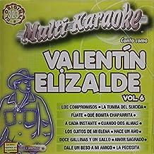 Karaoke: Valentin Elizalde 6 - Exitos by Valentin Elizalde (2010-08-17)