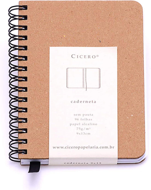 Caderneta Wire O Kraft, da Cicero