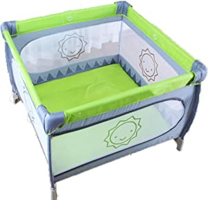 Hfyg Playpens Baby Playpen  Indoor Crawling Safety Barrier for Toddlers The Family Unisex pens  Color